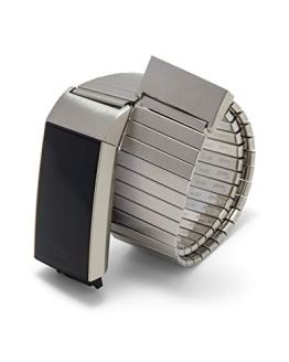 Twist-O-Flex Metal Expansion Brushed Stainless Steel Band