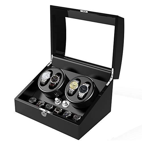 Automatic Watch Winder with Extra 6 Watch Storage
