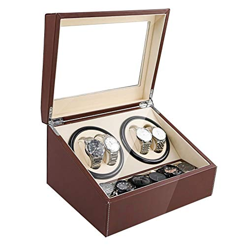 Automatic Watch Winder Display Box Case