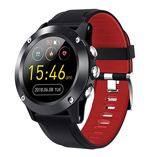 Smartwatch Fitness Tracker with Heart Rate Monitor