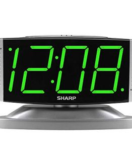 LED Digital Alarm Clock Swivel Base