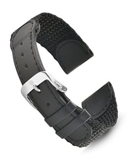 Swiss Army Style Mens Replcement Strap Watch Band