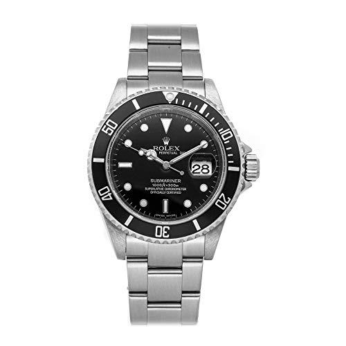 Black Rolex Submariner Watch Automatic