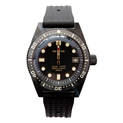 Automatic Watch Diver 30 Bar Self Wind Mechanical Wristwatch