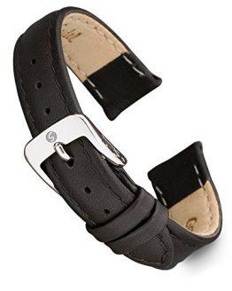 Speidel Genuine Leather Ladies Watch Band Black