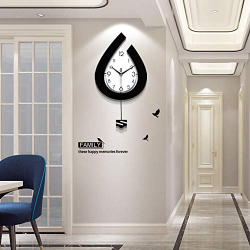 Pendulum Wall Clock for Living Room