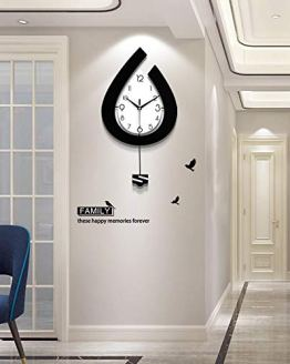 Pendulum Wall Clock for Living Room