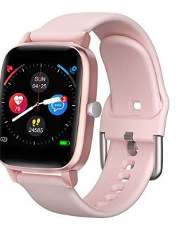 Heart Rate Blood Oxygen Monitor Smart Watch for Android and iOS
