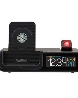 La Crosse Technology Wattz 3-n-1 Projection Alarm Clock