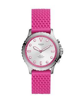 Pink Women Hybrid Smartwatch