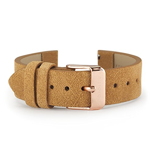 Wristology Quick Release Genuine Suede Leather Easy Change