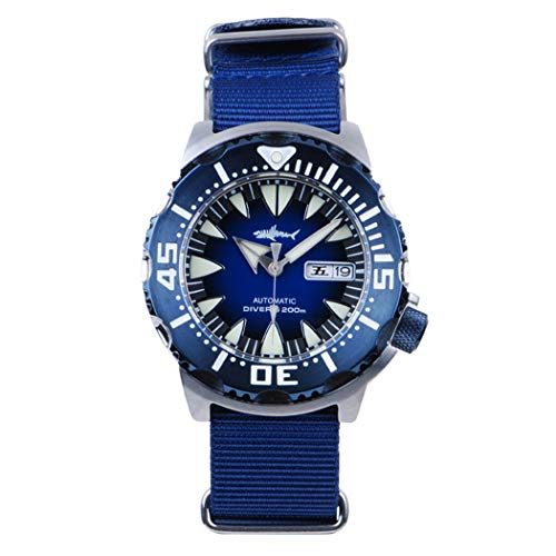 AMOY Automatic Watches for Men, self Wind Mechanical Wristwatch