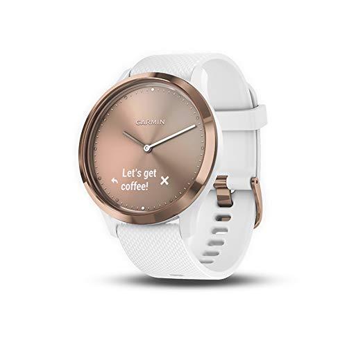 Garmin vivomove HR, Hybrid Smartwatch for Men and Women