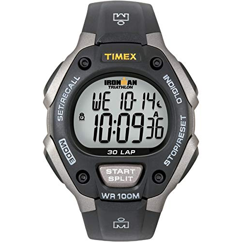 Timex Watch Ironman Classic 30 Gray/Black Resin