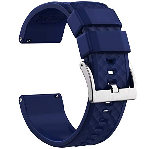 Ritche 20mm Silicone Watch Band Compatible with Samsung Galaxy