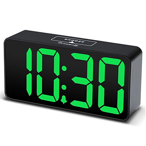 Digital Alarm Clock with USB Port for Charging