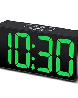 Digital Alarm Clock with USB Port for Charging