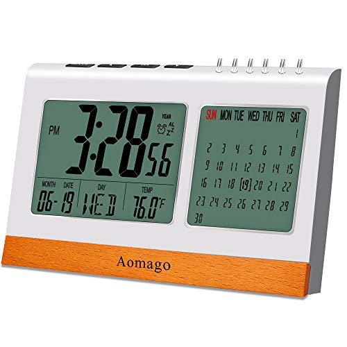Bedroom Digital Alarm Calendar Clock
