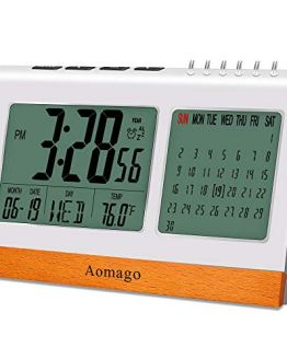 Bedroom Digital Alarm Calendar Clock