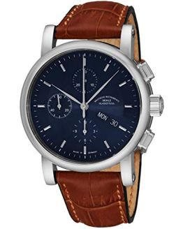 Muhle Glashutte Teutonia Mens Automatic Watch - Blue Face