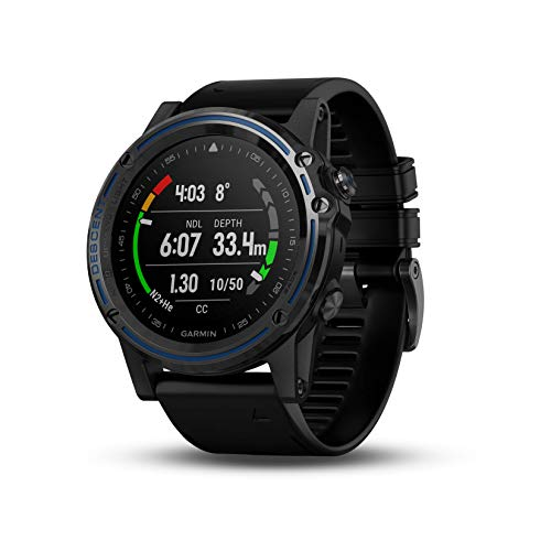Garmin Fitness Watch-Sized Dive Computer with Surface GPS