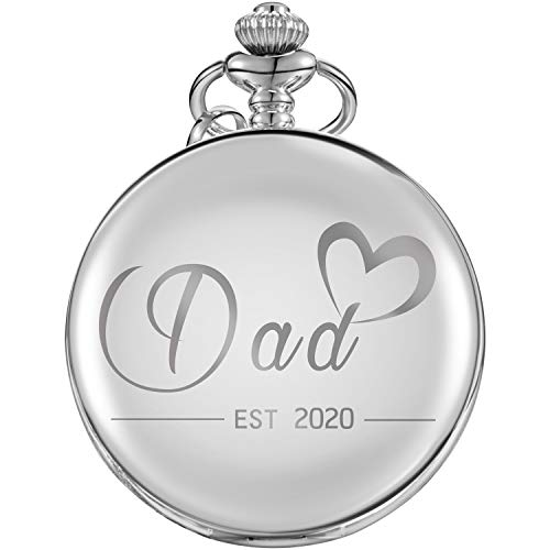Pocket Watch First Time Dad Expecting Father to Be