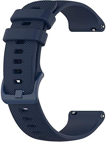 Navy Blue Quick Release Easy Change Rubber Watch Band Strap