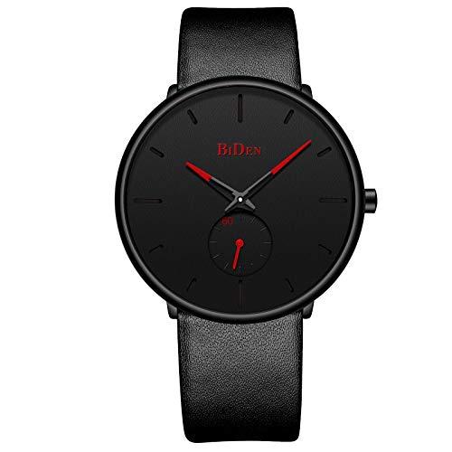 Mens Watch Minimalist Fashion Luxury Ultra Thin Wrist Watches