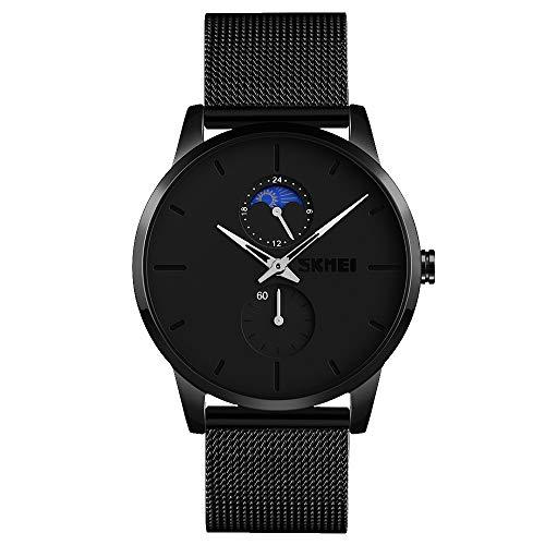 Wrist Watch Minimalist Waterproof Mens Watch