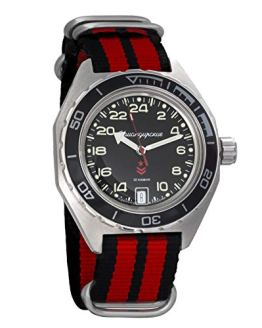 Vostok Komandirskie Automatic 24 Hour Dial Russian Military Wristwatch