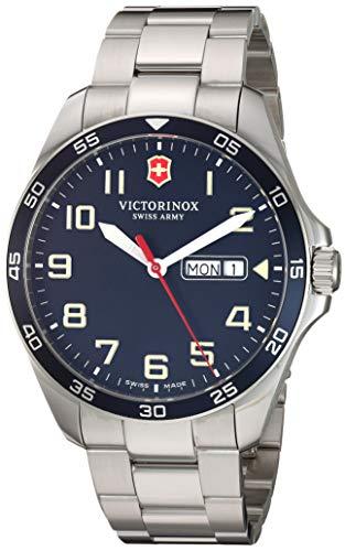 Victorinox Fieldforce Analog Quartz Watch with Stainless Steel Strap