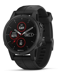 Garmin Fenix 5s Plus, Smaller-Sized Multisport GPS Smartwatch