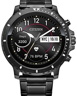 Citizen CZ Smart HR Heart Rate Smartwatch 46mm Gray
