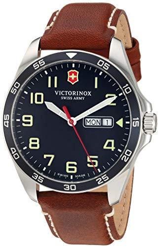 Victorinox Men's Fieldforce Stainless Steel Analog Quartz Watch