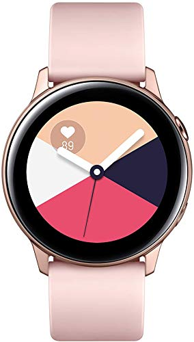 Rose Gold Smart Watch with Fitness Tracking