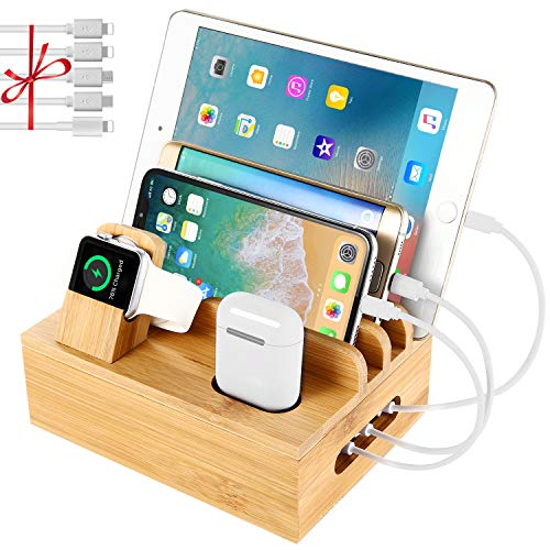 Charging Station Dock Organizer for Cellphone