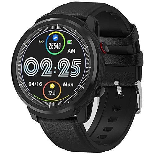 Waterproof Smart Watch Fitness Tracker with Blood Pressure Heart Rate