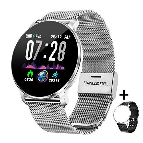Smart Watch IP68 Waterproof Activity Tracker Heart Rate Blood Pressure Monitor