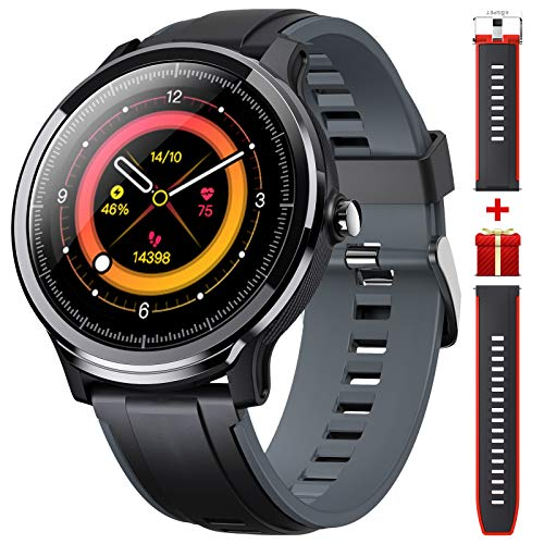 Smart Watch for Android iOS Fitness Tracker with Heart Rate Monitor