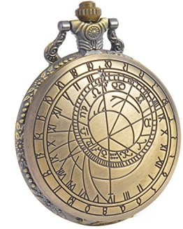 SIBOSUN Doctor Who Pocket Watch Quartz Chain