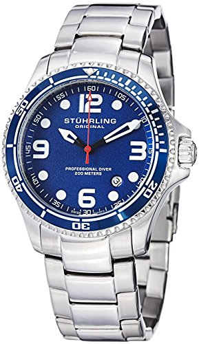 "Stuhrling Original Mens ""Specialty Grand Regatta"" Stainless Steel"