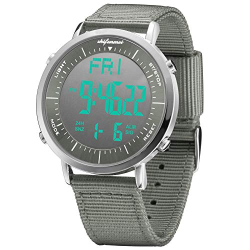 Digital Sports Watch with Large Face Led Backlight