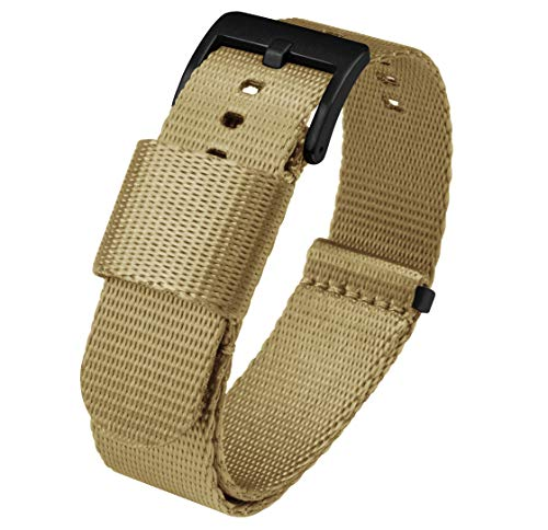 20mm Khaki Tan BARTON Jetson NATO Style Watch Strap