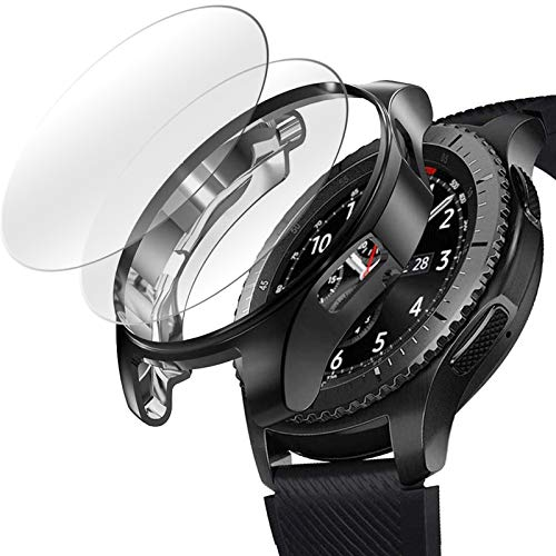 [2+1 Pack] Compatible Samsung Galaxy Watch 46mm/ Gear