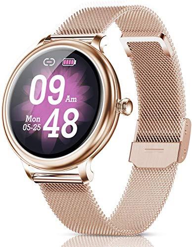 CatShin Smart Watch for Women,Fitness Tracker Bluetooth Watch