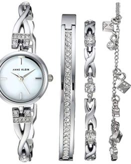 Swarovski Crystal Anne Klein Watch and Bracelet Set