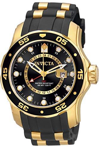 Gold Invicta Men's Pro Diver Scuba