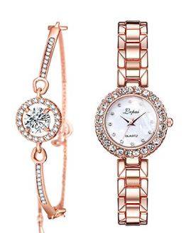 Women's Wrist Watches Crystal Stainless Steel
