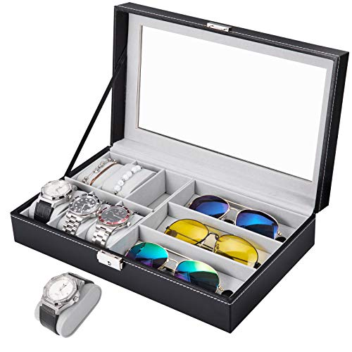 APL Display Watch and Sunglasses Jewelry Box