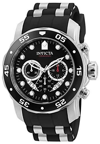 Invicta Men's Pro Diver Scuba with Black Silicone Strap